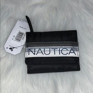 Black Nautical Wallet with RFID Protection